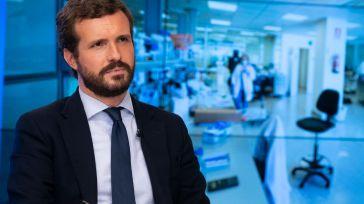 Casado se jacta de la influencia del PP por conseguir en 12 horas el apoyo de la UE frente a Sánchez