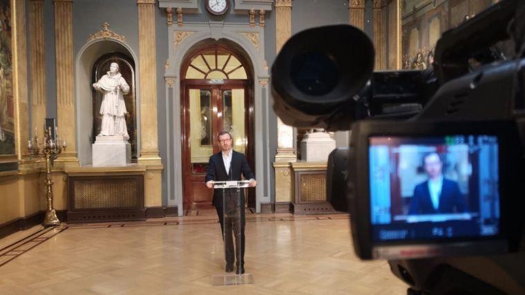 Maroto: 'Sánchez se ha llevado el mayor tirón de orejas que le ha dado Europa a un presidente'