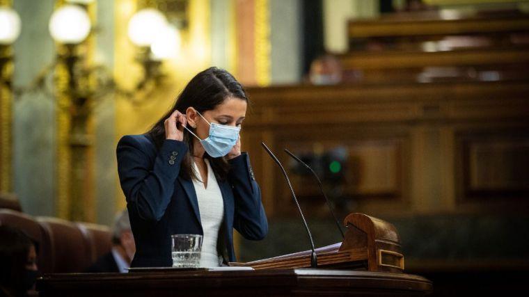 Arrimadas: 'Hay que gestionar la pandemia con una solución nacional sin falsas victorias ni optimismo'