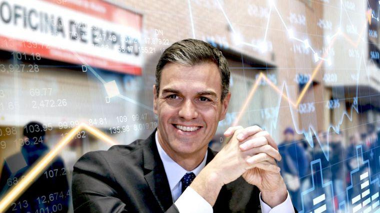 La economía española se muere: Sánchez dispara el paro por encima del 16%