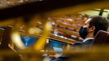 Casado se planta y advierte que acudirá a Europa ya que el Gobierno 'impide el control parlamentario'