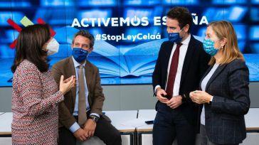 #StopLeyCelaá: El PP comienza una recogida de firmas contra el Gobierno