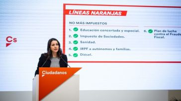 Arrimadas dirá sí a los PGE a cambio de que no haya referéndum en Cataluña y se rectifique la 'Ley Celáa'