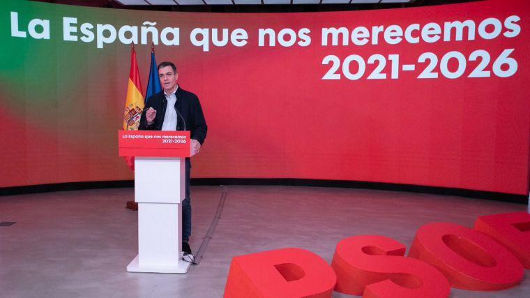 Pedro Sánchez presidente 'a toda costa': 'Acabaremos en 2023 la legislatura'