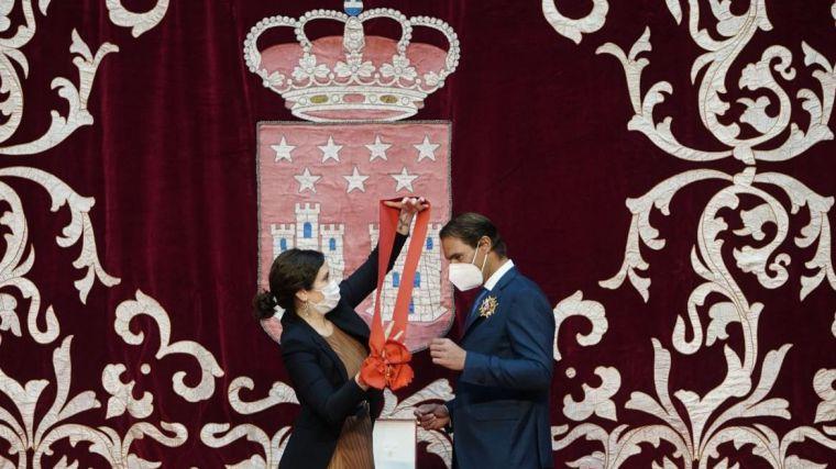 Ayuso y su gran reconocimiento a Rafa Nadal frente a los ataques de la izquierda