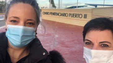 La 'socia de Sánchez' visita a presos de ETA en Cádiz