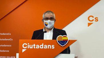 Ciudadanos exige que el 'separatismo populista' respete los espacios públicos y elimine su simbología