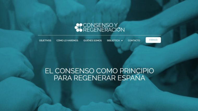 Antiguos miembros de PSOE, Cs y UPyD lanzan Consenso y Regeneración
