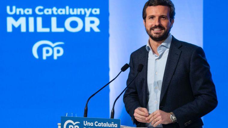 Casado: 'Los catalanes no merecen al peor ministro de Sanidad de Europa'