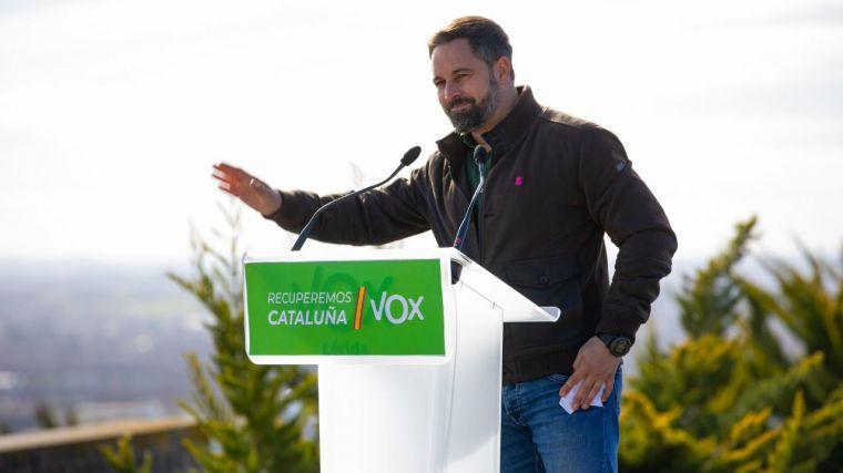 VOX se erige en Cataluña como la 'única alternativa' frente a la 'ruina golpista'