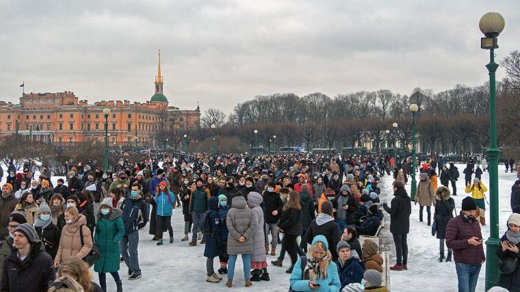 Protestas en Rusia por la detención del crítico Alexei Navalny