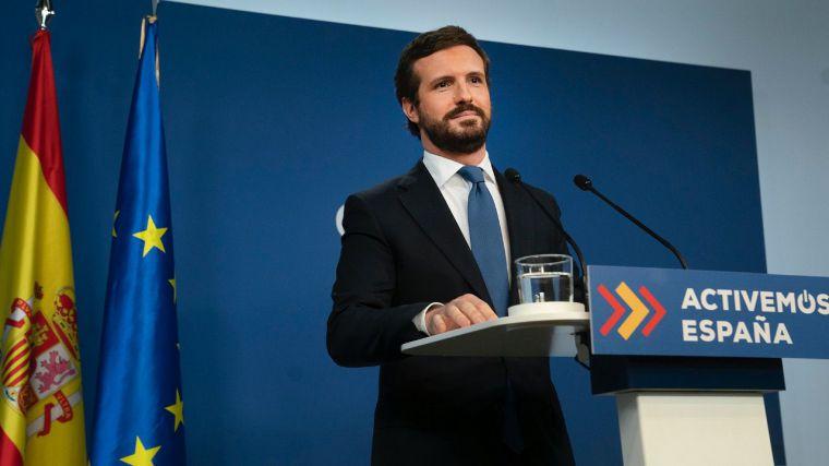 Casado: '¿Insinúan Sánchez e Illa que Cataluña es una colonia de España y una dictadura?'