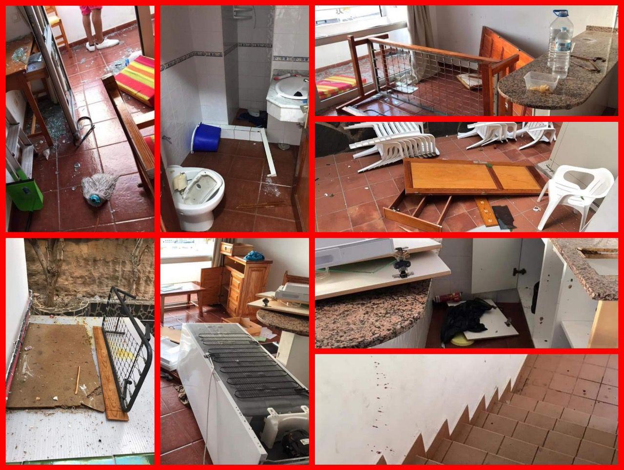 Canarias sufre la violencia extrema de los inmigrantes con destrozos en los hoteles y peleas continuas   mil21