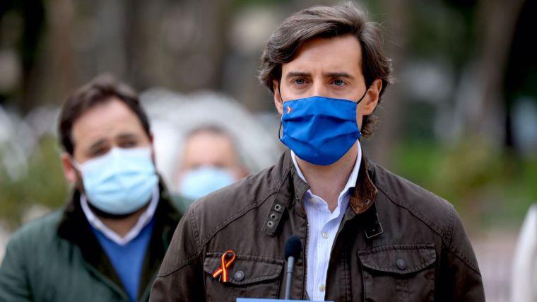 Montesinos: 'Sánchez consiente que miembros del Consejo de Ministros amparen la violencia y el terrorismo callejero'