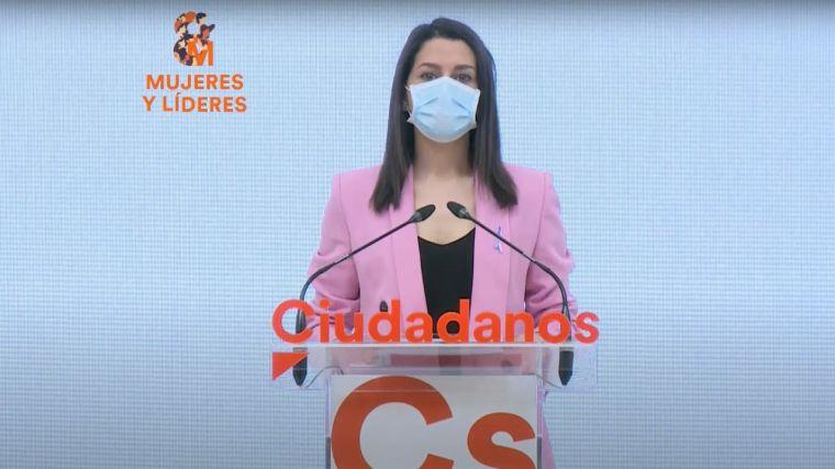 Arrimadas valora su primer año al frente de Ciudadanos: