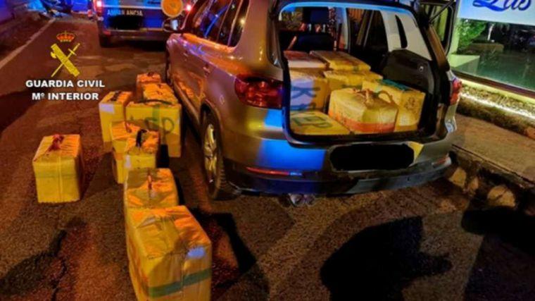 Cae la organización de narcotráfico liderada por el vecino de Ceuta 'El Tapi'