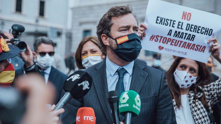 VOX se compromete a derogar la Ley de Eutanasia