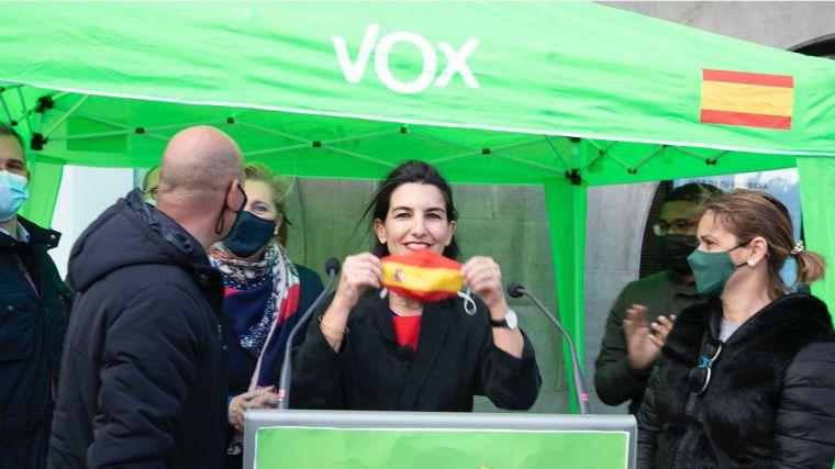 Vox recuerda y pone en valor que su proyecto político en Madrid