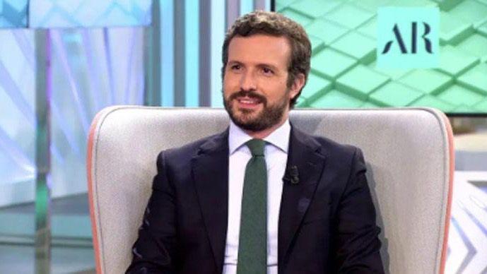 Casado se erige como 'única alternativa a Sánchez', algo de lo que 'se dan cuenta los votantes de Cs y Vox'