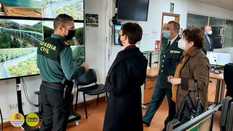 60 subsaharianos intentan entrar en Ceuta