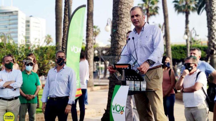 """Ortega Smith: """"Frente a la izquierda traidora, frente a una derecha acobardada cuando no corrupta, VOX es la alternativa"""""""
