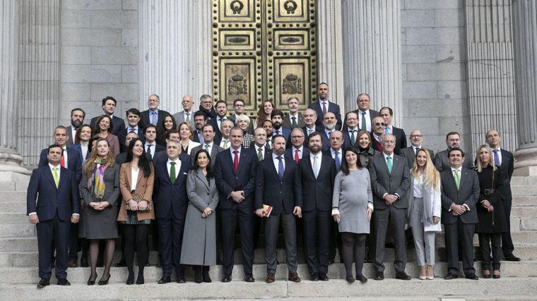 VOX presenta una enmienda a la totalidad al proyecto de reforma del Gobierno del art. 49 de la Constitución