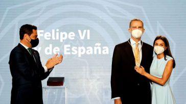 Andalucía otorga su primera Medalla de Honor al Rey
