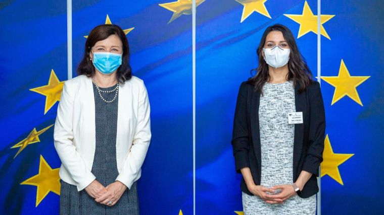 Arrimadas acude a Bruselas para