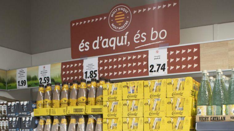 Lidl redobla su 'compromiso' con los productos catalanes en plena crisis separatista