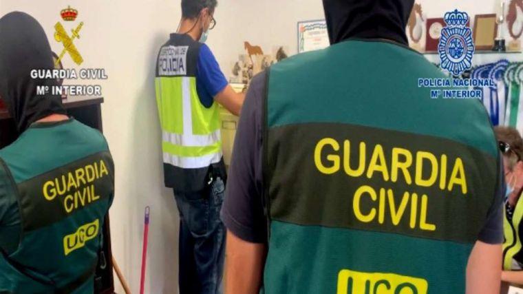 Golpe al narcotráfico con 14 detenidos en Sevilla, Málaga y Ceuta