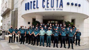 Vigilancia de fronteras y lucha contra la inmigración irregular en Ceuta