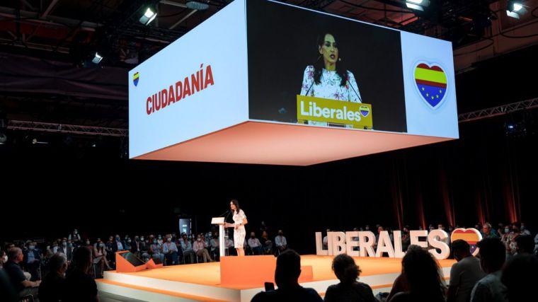 Arrimadas reivindica el espíritu liberal europeo que España no parece entender