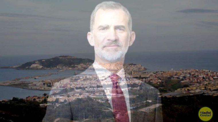La Asamblea de Ceuta invita al Rey, dirá no el Gobierno, para no ofender a Marruecos