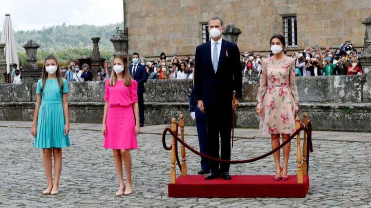 Felipe VI: 'Hacia Compostela discurre un camino que recoge el espíritu de todos los que existen desde el origen de los tiempos'