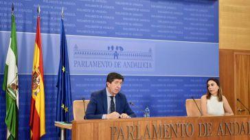 Marín (Ciudadanos) se pronuncia sobre el entramado histórico del PSOE en Andalucía que ha destapado