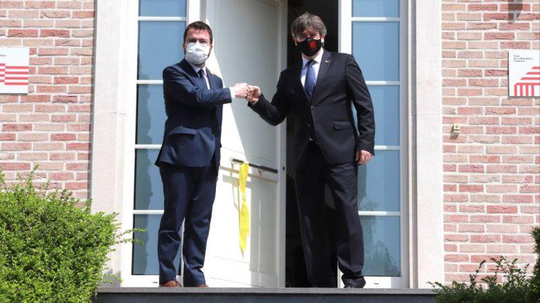Puigdemont, detenido en Italia