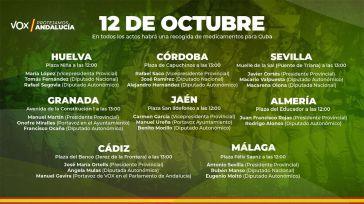 VOX se moviliza el Día de la Fiesta Nacional en defensa de la unidad de España