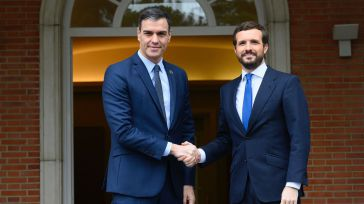 Pablo Casado (PP) y Pedro Sánchez (PSOE)