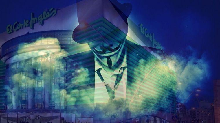 Anonymous España publica las cuentas secretas de El Corte Inglés