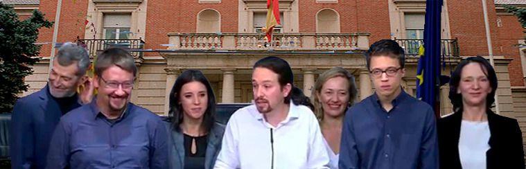 La provocación de Pablo Iglesias y la crisis del PP, apuntalan la fórmula de que el Rey encargue a un independiente la formación de un gobierno de consenso