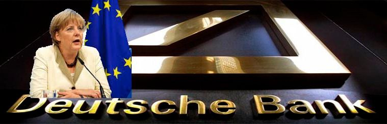 Angela Merkel no dejará caer al Deutsche Bank para salvar la Unión Europea