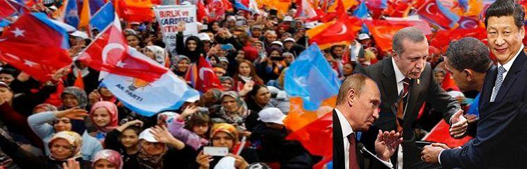 """Turquía crea una """"Internacional Islamista"""" para frenar a Rusia y China en Oriente Medio"""