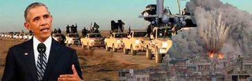 Obama sigue los pasos de Putin y ordena bombardear al Estado Islámico en Libia