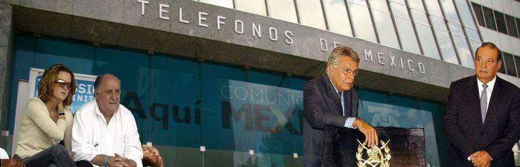 Felipe González, embajador del mexicano Carlos Slim en la corrupta España