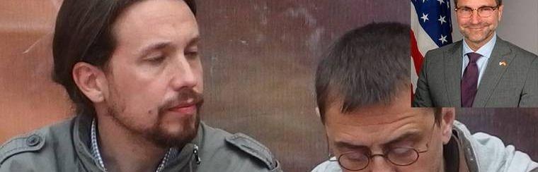 Pablo Iglesias prescindió de Monedero tras reunirse con el embajador de Estados Unidos