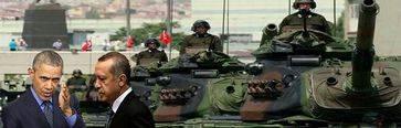 Obama deja caer a Erdogan en medio de rumores de golpe de Estado