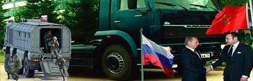 Putin fabricará camiones militares y civiles en Marruecos