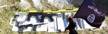 El Estado Islámico escondía armas en Ceuta para un atentado