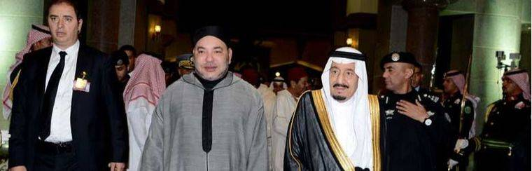 Mohamed VI propone a los monarcas del Golfo P�rsico que establezcan alianzas con Rusia y China