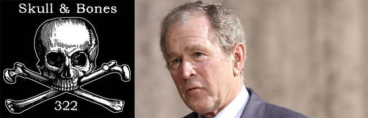 """La filtración de documentos de la sociedad secreta """"Skull and Bones"""" dejará al descubierto a la familia Bush"""
